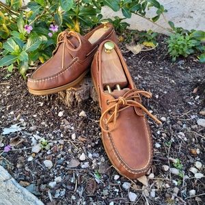 Chatham Commodore Boat Shoes. Brown.